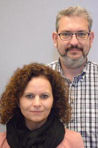 Diana Malolepszy und Roland König
